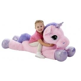 "Pink 45"" Unicorn Soft Toy £29.99"