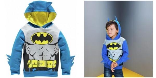 Batman Novelty Hoodie £8.66 @ Argos
