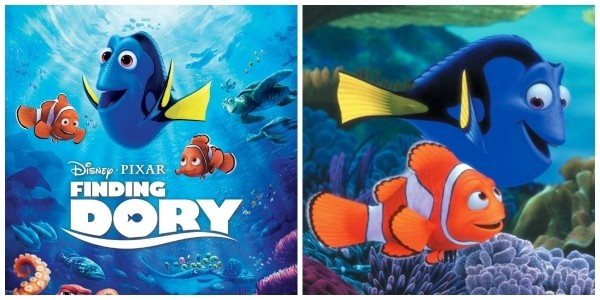 Pre-Order Finding Dory DVD £9.99 @ Amazon