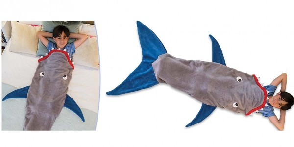Kids Shark Tail Blanket £5.99 (+ £3.99 Del) @ Go Groopie