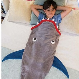 Kids Shark Tail Blanket £5.99