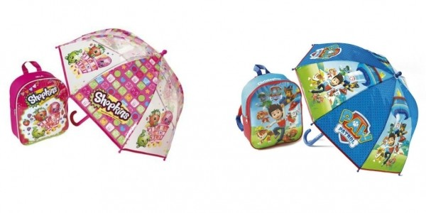 Personalised Backpack And Umbrella Sets £5.99 (With Code) @ Studio