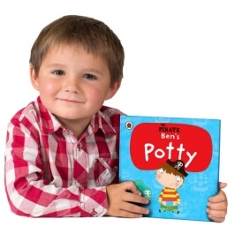 Personalised Pirate Potty Books £3 Off