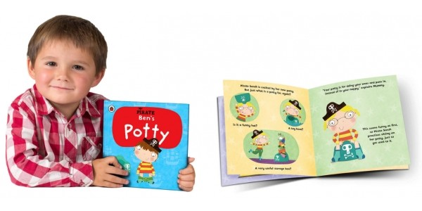 Personalised Pirate Potty Books £3 Off Using Code @ Penwizard
