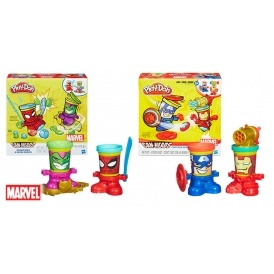 Play-Doh Marvel Can-heads £3.99