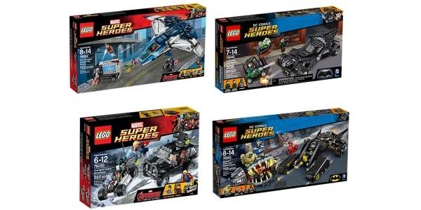 Up To 30% Off Lego Superheroes @ Asda George