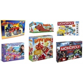 Up To 75% Off Games & Puzzles