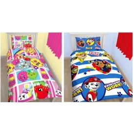 Kids Character Bedding Sets Now £12 @ Very