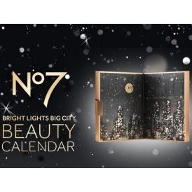 No7 Bright Lights Big City Beauty Calendar
