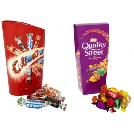 Offer Stacking 8 Boxes Of Celebrations Quality Street 163 5