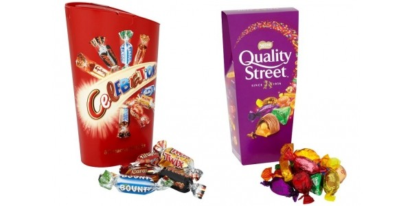 Offer Stacking: 8 Boxes Of Celebrations/Quality Street £5 @ Tesco (Expired)