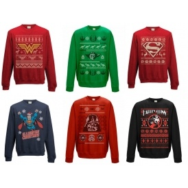 Star Wars / DC Comics Christmas Jumpers