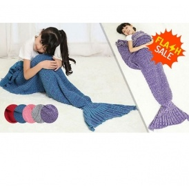 Kids Mermaid Blankets £5.99 (+Del)