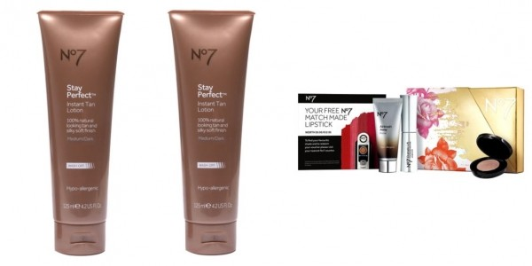 Four Stay Perfect Instant Tan Lotion Medium/Dark 125ml For Less Than Price Of One + FREE Gift @ Boots.com (Expired)