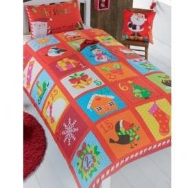 Personalised Advent Bedding £9.99