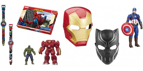 Up To 50% Off Marvel Superheroes @ The Entertainer