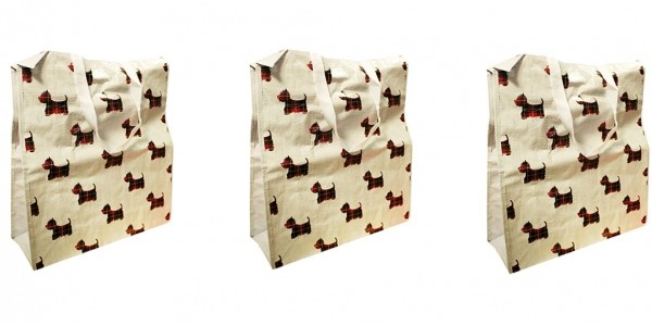 Scotty Dog Shopper Bags 80p (With Code) @ The Works