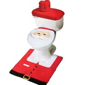 Santa Toilet Seat Cover Set £4.80