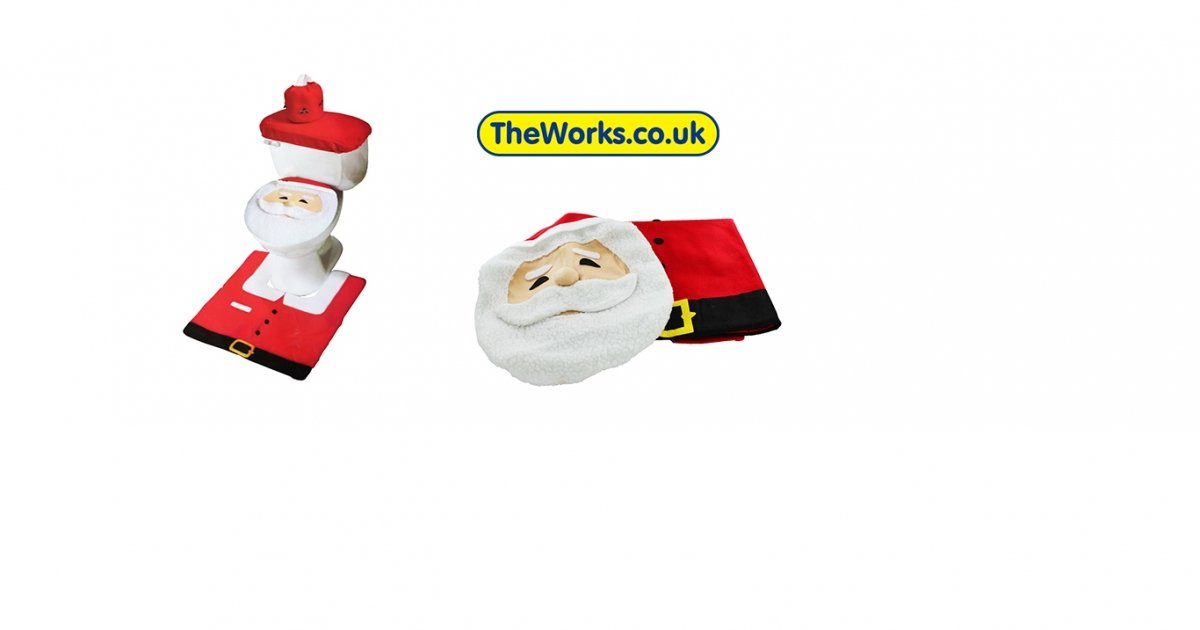 Santa Toilet Seat Cover Set 163 4 80 With Code The Works
