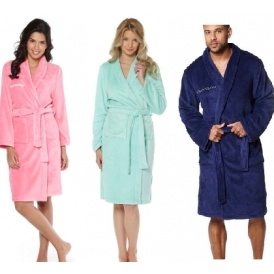 Personalised Mens & Ladies Dressing Gowns