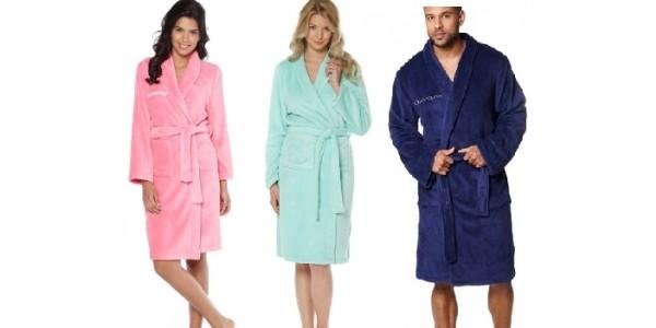 Personalised Mens & Ladies Dressing Gowns £7.99 @ Studio
