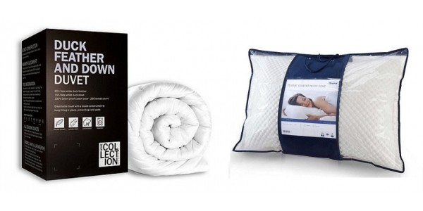 40% Off ALL Duvets & Pillows Today Only @ Debenhams