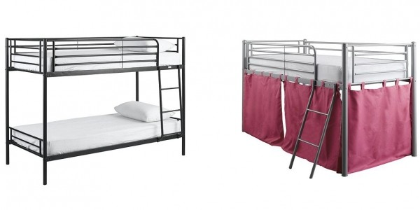Mika Twin Metal Bunk Bed £55 (With Code) @ Tesco Direct