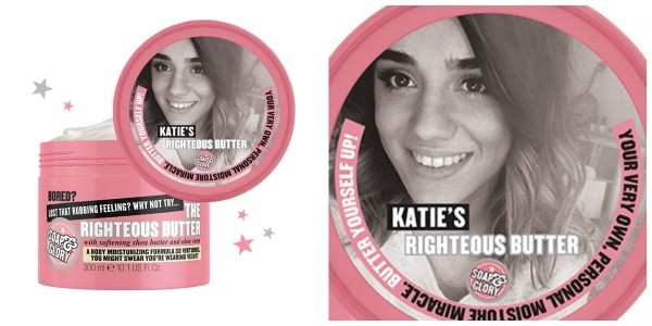 Personalised Soap & Glory Righteous Butter £11 @ Boots