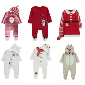 Christmas Baby Clothing From £4