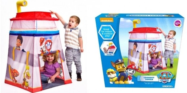 Paw Patrol Lookout Tower Play Tent £24.99 @ Smyths Toys