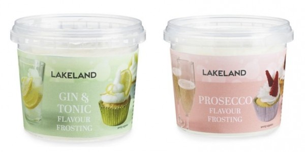 Prosecco Frosting and Gin & Tonic Frosting £2.39 @ Lakeland