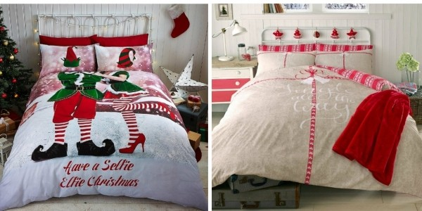 Christmas Duvet Covers Reduced @ Very