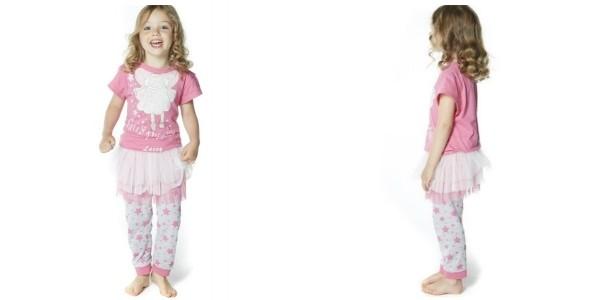 Personalised Fairy Pyjamas With Tutu £6.99 @ Studio