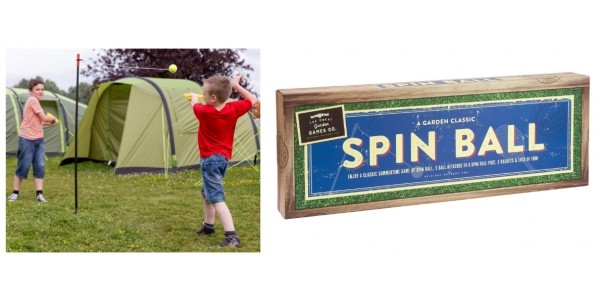 £10 Off Spin Ball Now Just £5 + Free Click & Collect @ Halfords
