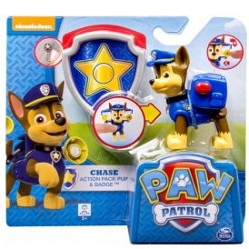 Paw Patrol Action Pack Pup and Badge