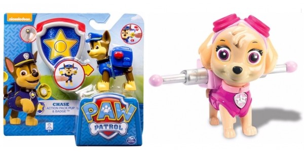 Paw Patrol Action Pack Pup and Badge 3 For 2 @ Argos