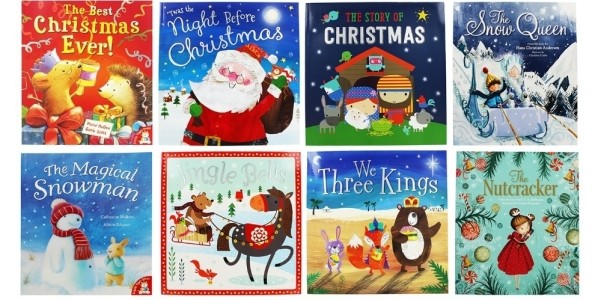 10 Books For £10 Including Christmas Books @ The Works
