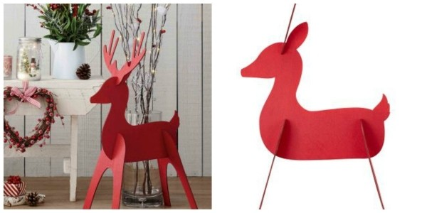 Wooden 3D Reindeer £8 @ Next
