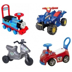 Ride-On Toys From £7.50
