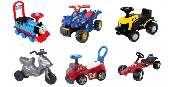 Ride-On Toys From £7.50 @ Tesco Direct