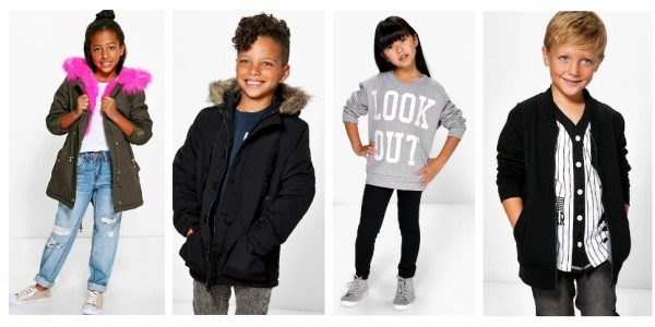 New Kids Range Now Available @ Boohoo