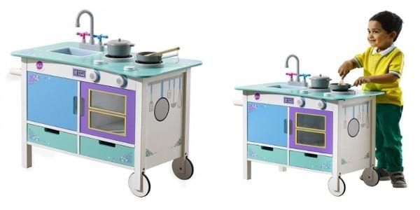 Plum Cook-a-lot Trolley Wooden Kitchen £35 @ Tesco Direct