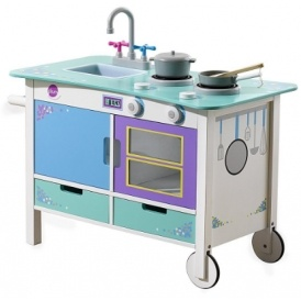 Plum Cook-a-lot Trolley Wooden Kitchen £35