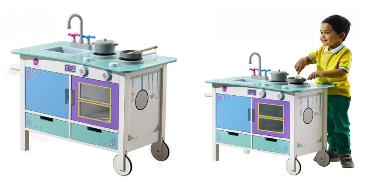plum cook a lot trolley wooden kitchen tesco. Black Bedroom Furniture Sets. Home Design Ideas