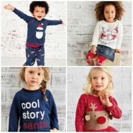 Children's Christmas Clothing @ Next