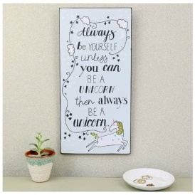 Unicorn Sign From £10 Delivered @ Lisa Angel