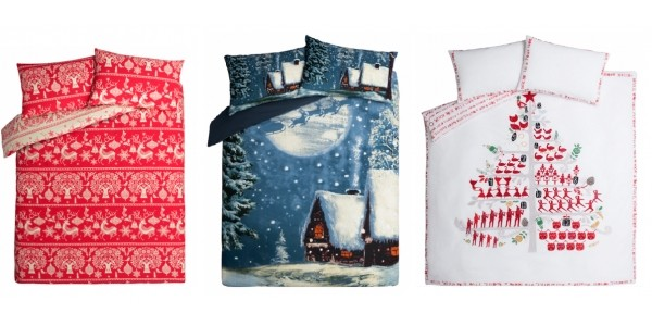 NEW Christmas Bedding From £10 @ Asda George