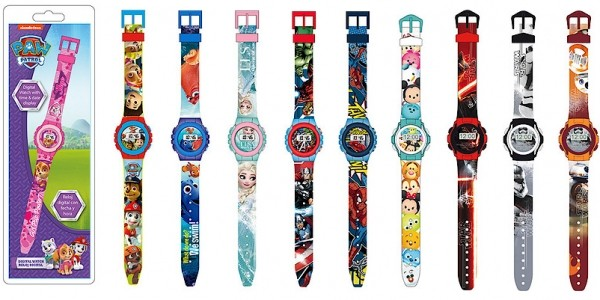 Kid's Character Watches £2.40 Each @ The Entertainer