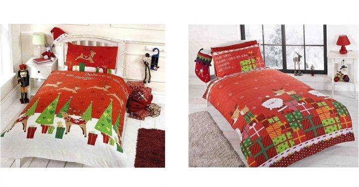 children 39 s christmas duvet cover sets 11. Black Bedroom Furniture Sets. Home Design Ideas
