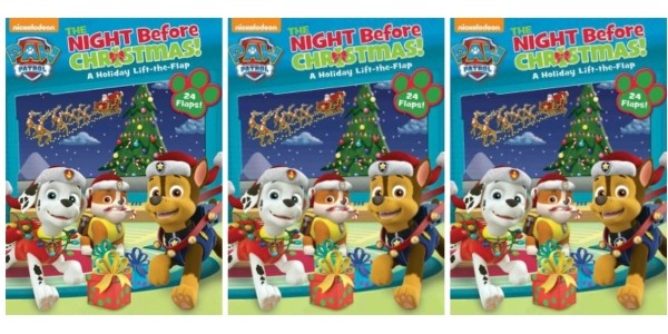 Paw Patrol: The Night Before Christmas Book £5.58 Delivered @ Wordery